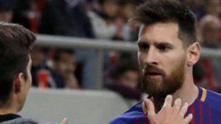 El incómodo momento que vivió Lionel Messi