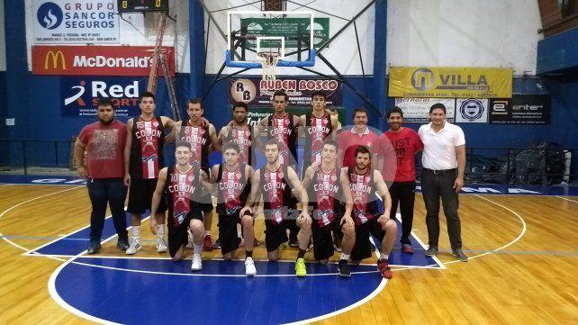 Colón (SJ) completó el cupo de semifinalistas en el Oficial de Básquet
