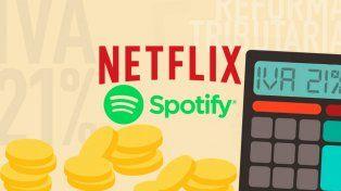¿Cuánto costará Netflix y Spotify si se aprueba la reforma tributaria?