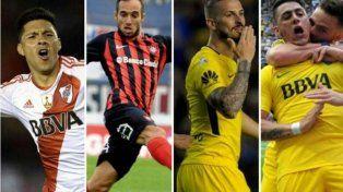 Los cuatro convocados por Sampaoli del fútbol argentino