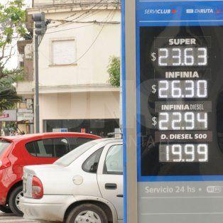 ypf bajo 1,5% los precios de las naftas super y premium a partir de hoy