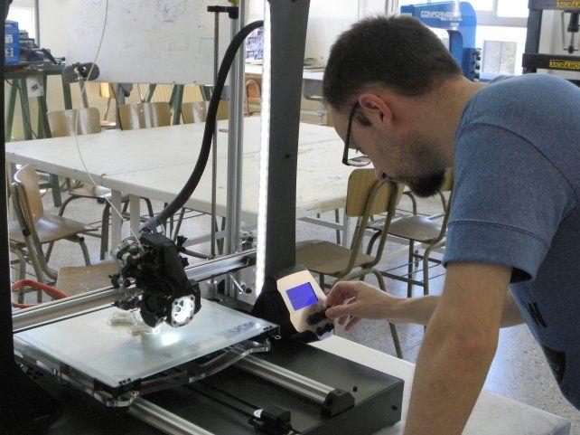 Santa Fe ya tiene su impresora 3D totalmente producida en la ciudad