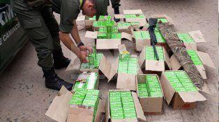 Secuestraron más de 10 mil municiones en San Javier