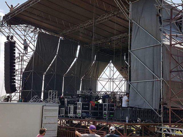 A horas de la Fiesta de la Cumbia Santafesina, así está el escenario