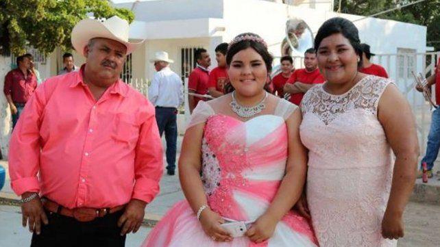 Una adolescente bajó 90 kilos para su fiesta de 15