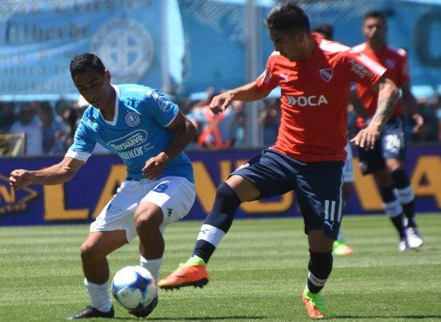 Belgrano e Independiente no pudieron romper el cero en Córdoba