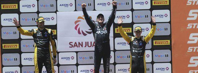 Werner logró su primer triunfo en San Juan y se acercó a la punta del STC2000