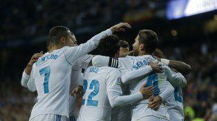 Real Madrid se recuperó con una goleada ante Las Palmas