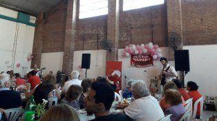 Actitud Solidaria realizó otro almuerzo solidario