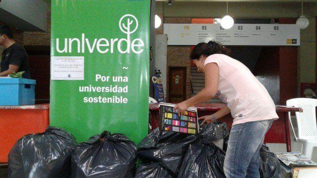 Nueva campaña de reciclado de papel en la UNL