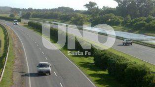 La provincia invertirá más de $53 millones en obras de reparación en la autopista Santa Fe-Rosario