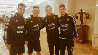 La Selección arrancó su preparación en Moscú con Leo Messi a la cabeza