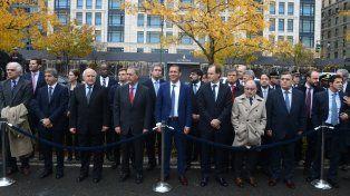 Lifschitz y Macri participaron en Nueva York de un homenaje a las víctimas del atentado
