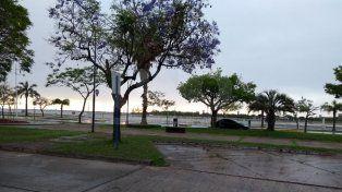La mañana arrancó con inestabilidad y lluvias en la ciudad de Santa Fe