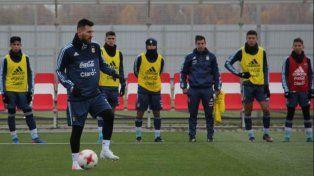 Argentina realizó su primer trabajo en Rusia