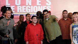 Maradona aseguró su presencia en Rusia