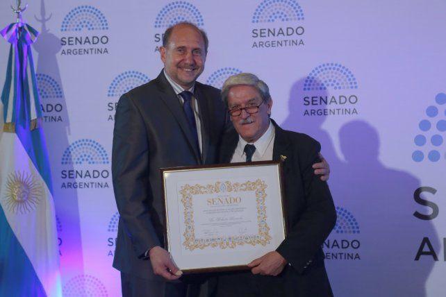El Senado de la Nación premió a científicos del país