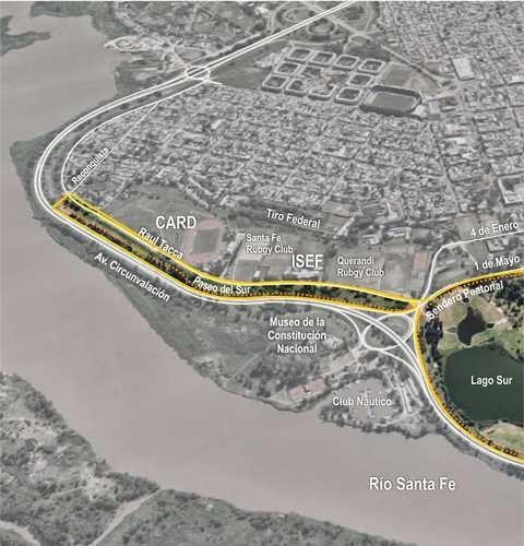 Paseo del Sur: un polo deportivo y educativo en la ciudad