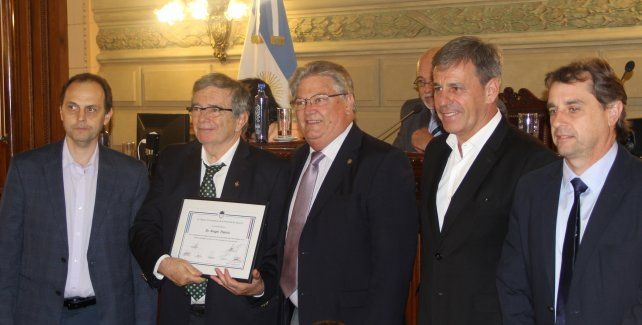 La Cámara de Senadores reconoció al equipo médico del Hospital Iturraspe