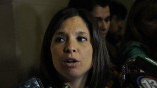 La fiscala Gabriela Arri.