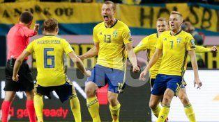 Suecia le metió presión a Italia