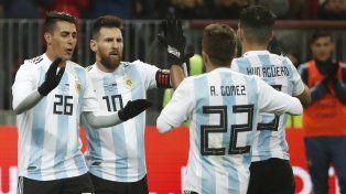 Messi: Pavón puede ser importante para la Selección