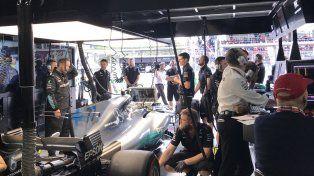 Empleados de la escudería Mercedes la pasaron muy mal en San Pablo