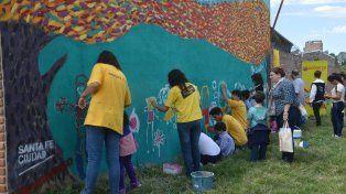 Intervenciones Artísticas Urbanas: un mural para las hermanas Cossettini