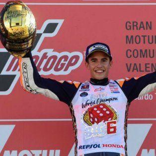 marc marquez se consagro campeon del moto gp