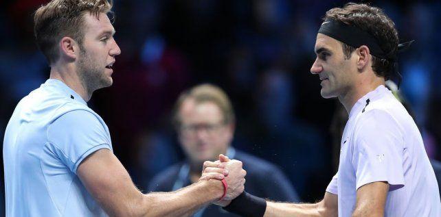 Federer arrancó con una sólida victoria ante Sock