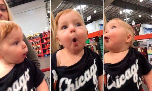 El video de un bebé entusiasmado con la Navidad que no podrás dejar de mirar