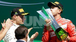 Vettel se impuso en el Gran Premio de Brasil