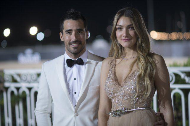 Nacho Viale y Lucía Pedrazza.