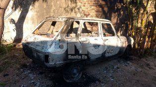 Imputaron a un joven de 18 años por el incendio de un auto en Santo Tomé