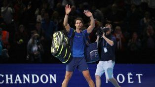 Nadal se baja del Masters de Londres por la lesión en la rodilla derecha