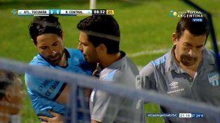Lucchetti se pierde la final de la Copa Argentina ante River