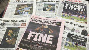 El Apocalipsis, los ecos de la eliminación de Italia del Mundial de Rusia 2018