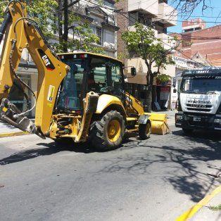 transporte publico: desvio de colectivos por trabajos de assa en dos puntos de la ciudad