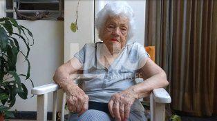 La santafesina Berta Ritvo cumple 104 años y cuenta sus secretos para la longevidad