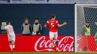 España y Rusia hicieron tres goles pero no pudieron ganar