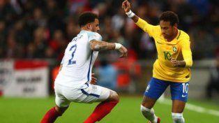 Brasil e Inglaterra no se sacaron ventajas