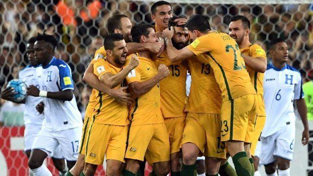 Australia es el penúltimo habitante de Rusia 2018
