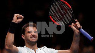 Dimitrov superó a Goffin se clasificó a las semifinales del Masters