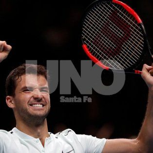 dimitrov supero a goffin se clasifico a las semifinales del masters