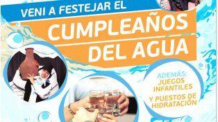Invitan a celebrar que Santa Fe tiene agua potable desde hace 110 años