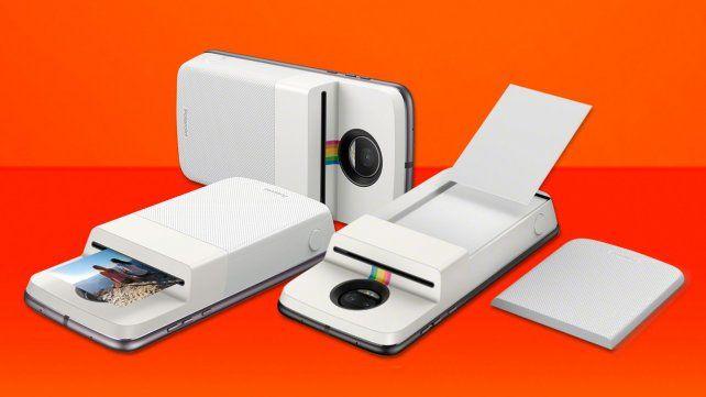 Ahora también se puede convertir el teléfono en una polaroid