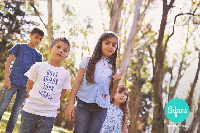 Enfans, el proyecto de ropa para niños de Antonela Roccuzzo, vuelve al ruedo