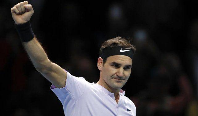 Federer llega invicto a las semifinales del Masters