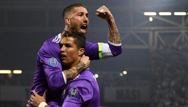 Zidane dejó entrever que hubo problemas entre Cristiano Ronaldo y Sergio Ramos