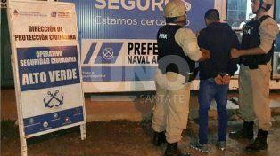 Detuvieron a un delivery de droga en Alto Verde
